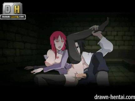 Наруто Порно - Карин приходит, Сасукэ конси