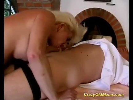 Стройная блонда отсосала член и подставила жопу для траха