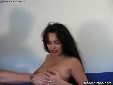Грубый секс с нянькой