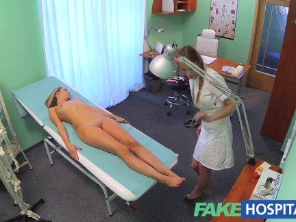 Телки веселятся с массажистом