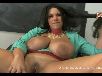 Анджелина кастро классная мастурбация!