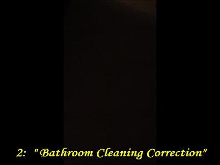 Золотой коррекции душ для непослушных толстушки