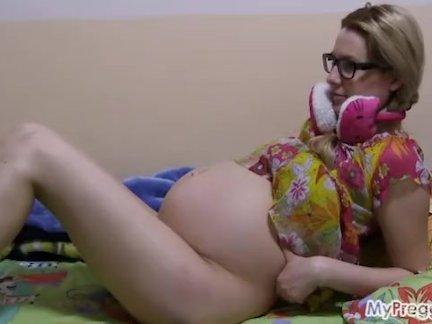 Тупой, беременная анна