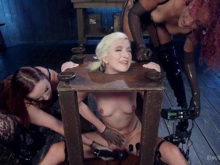 Горячая электро секс игрушка