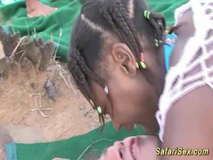 Дикий африканский сафари секс оргия