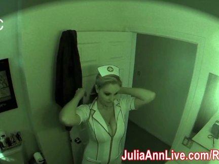 Медсестра юлия энн посещает для устного экзамена!