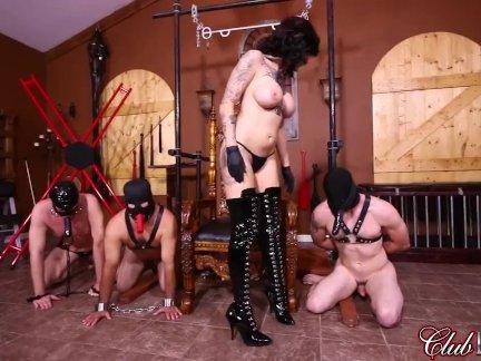 Клубдом фемдом - от тогда жопа трахается ее рабы