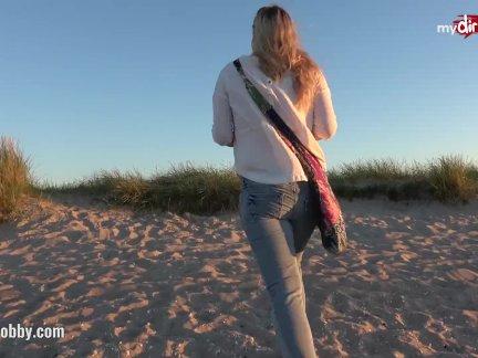 Мой грязные хобби-горячая на улице минет на в пляж