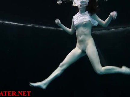 Любитель в темный бассейн