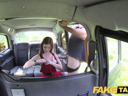 Поддельные такси Оливковый скин рыжий в нижнем белье