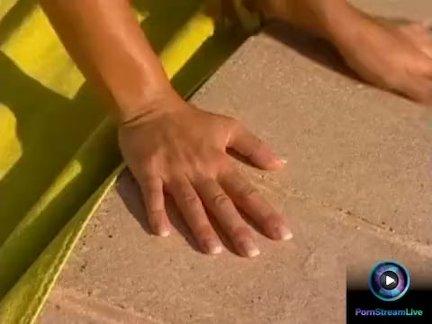 Рита Фальтояно и Кацуми потирая друг друга мокрые киски