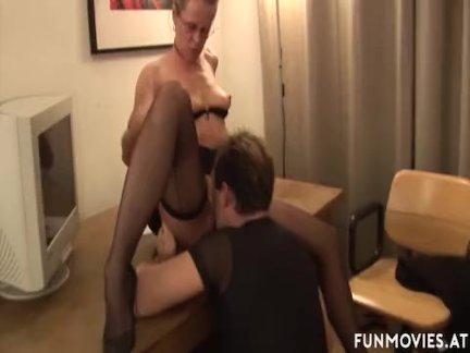 Анальный секс зрелые немецкий босс