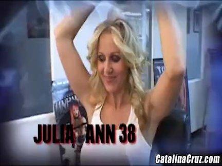 Джулия энн будет ходить смешно после этого большой черный член