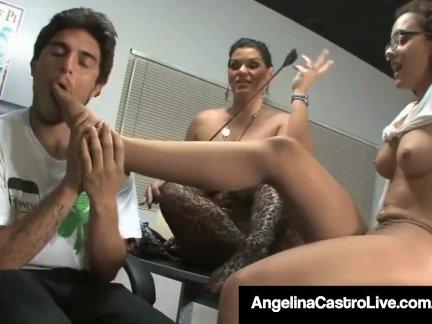 Кубинский учитель анджелина кастро силы роксана для делать ноги работа