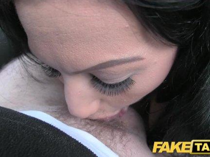 Поддельные такси сексуальный мамаша конфеты кейн трах жестоко по возбуждённый джон