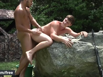 Мужчины - Кейден Александр и Пол Канон - Охота Часть - Дрель Моя дыра