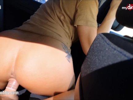 Мой Грязный Хобби - Любопытный студент трахнут трахал в машине