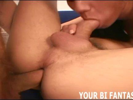 Бисексуальные тройки и женское доминирование Видео