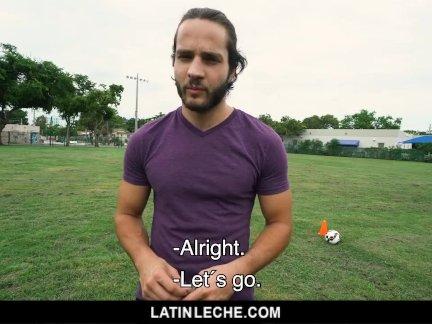 Латинлече-прям футбол ебарь гей для платить