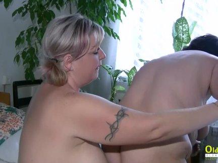Бабка толстушки зрелые лесбиянки играть вместе