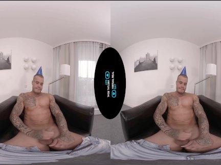 Виртуалреалгай-день рождения массаж
