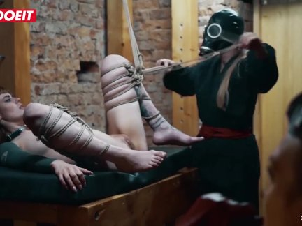 LETSDOEIT – Rough Bondage and Feet Worship for German Lady Officers