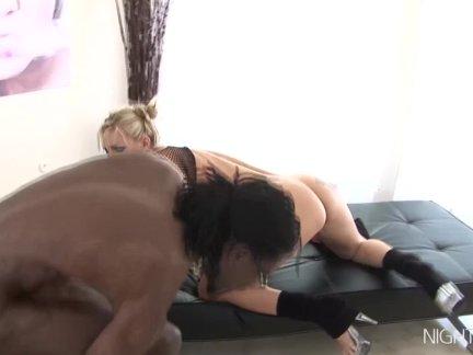 Сочные жена пользуется межрасовые анальный секс