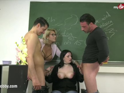 MyDirtyHobby – Professor Tatjana-Young blowing lessons