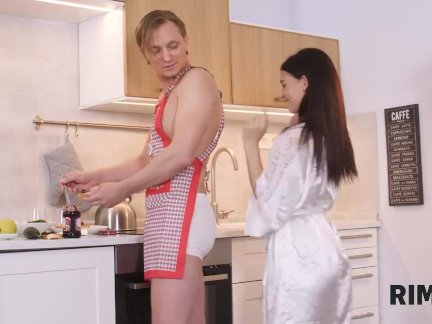 RIM4K Breakfast And Sex Is The Best Way For The Girl To Start The Day