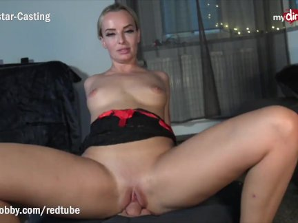 MyDirtyHobby – Blonde MILF twerking on cock while riding reverse cowgirl