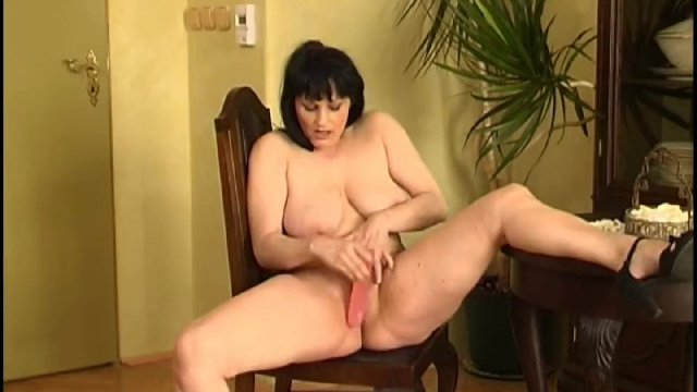 This Shaved Housewife Likes All Round Masturbate 1