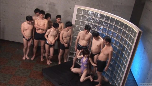 Subtitles Japan Blowjob Party with Monbu Ran
