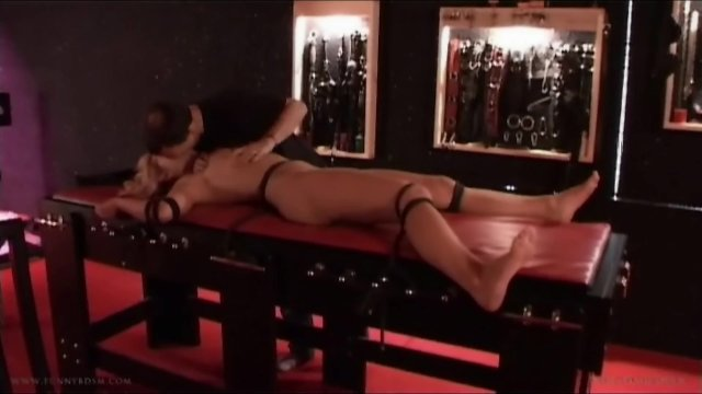 Girl in chains used for bdsm carnal craves
