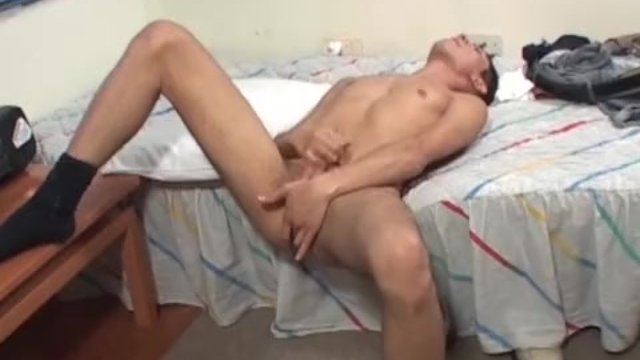 Hung Latin Twink Angel Beating His Meat