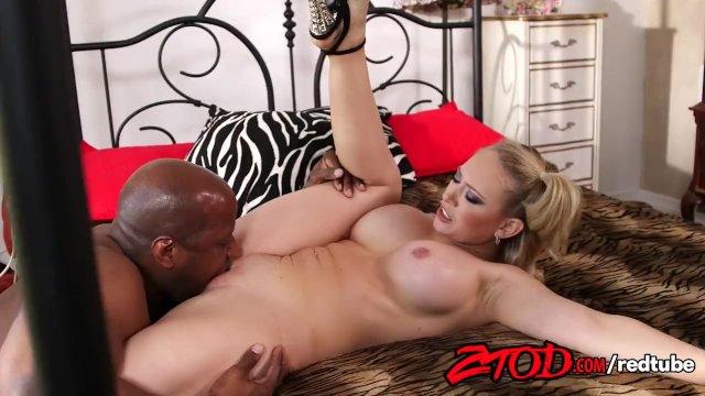 Kagney Linn Karter takes a huge black dick