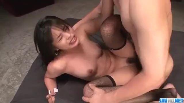 Two cocks to please tight Asian beauty Eririk