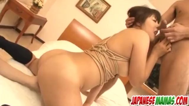 Naughty porn play with busty milf  Shino Naka