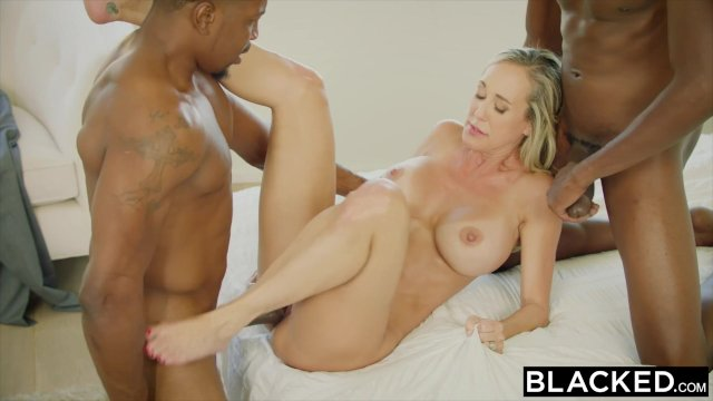 Ebony Threesome Bbc Anal