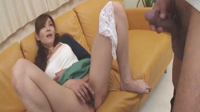 Naughty Nun spreads wide and sucks dick Hitomi Kan - More at Slurpjp com