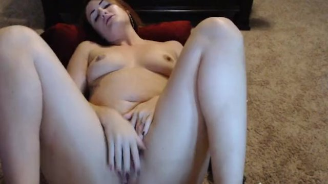 Brunette Babe Squirts After Fucking Her Pussy With Her Toy