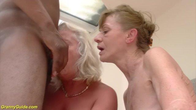 Granny video di sesso interrazziale