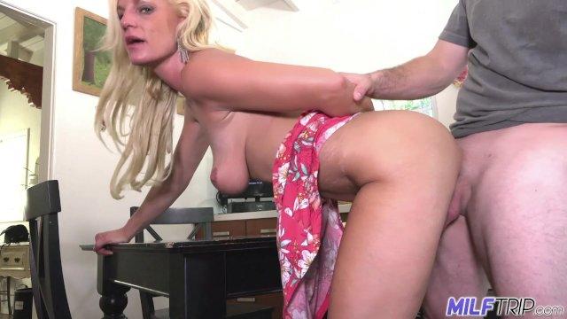 MILF Trip - Blonde MILF Charlie Daniels get filled with cock