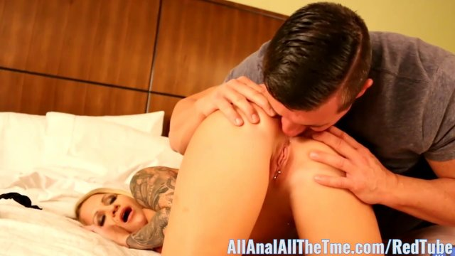 Tattoo babe Daisy Monroe Gets Ass Spread for AllAnal!