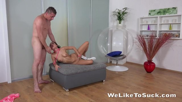 Rough Treatment for Submissive Teen