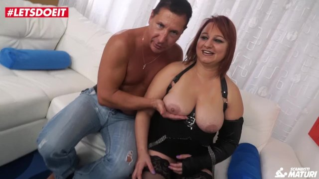 LETSDOEIT - Romanian Chubby Milf Ass Drilled By Italian Stud