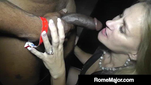 Big Black Cock Rome Major Wrecks Blonde Milf Valerie Rose!