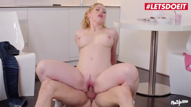 LETSDOEIT - Horny Wife Wants To EAT Lover s Cum For Breakfast
