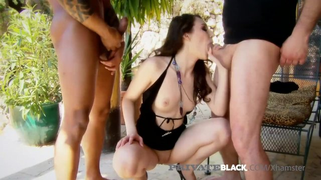 Private Black - Sexy Stacy Snake Gets Gaping Double Creampie