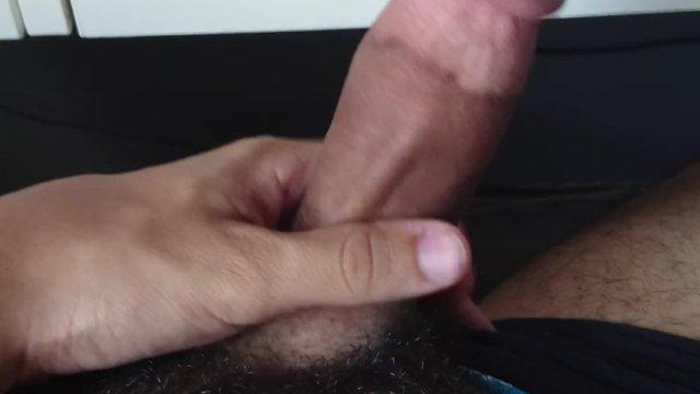 Arab Teen's Jerking Off His Big Cock - 4K