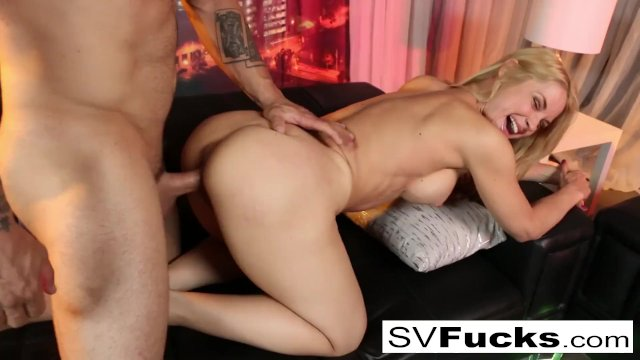 Hot  Sarah gets some good dick!